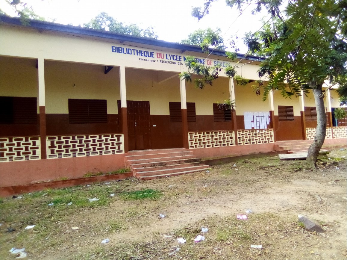 Bibliothek der Pasch-Schule in Sokodé