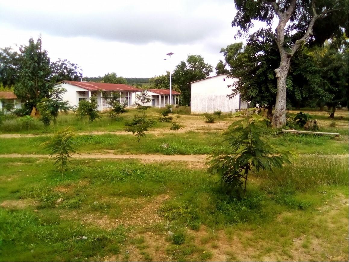 Klassengebäude der Pasch-Schule in Sokodé
